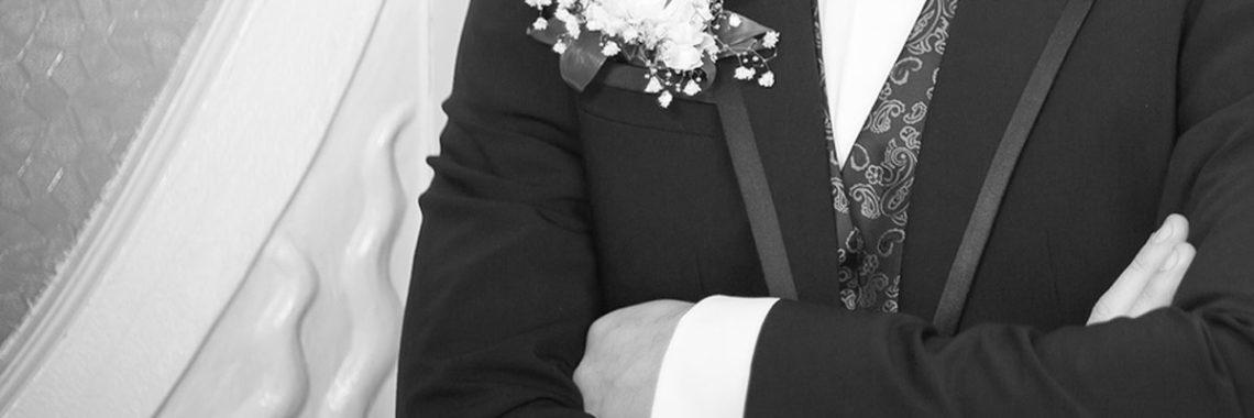 Hochzeitsanzug Mode für den Bräutigam