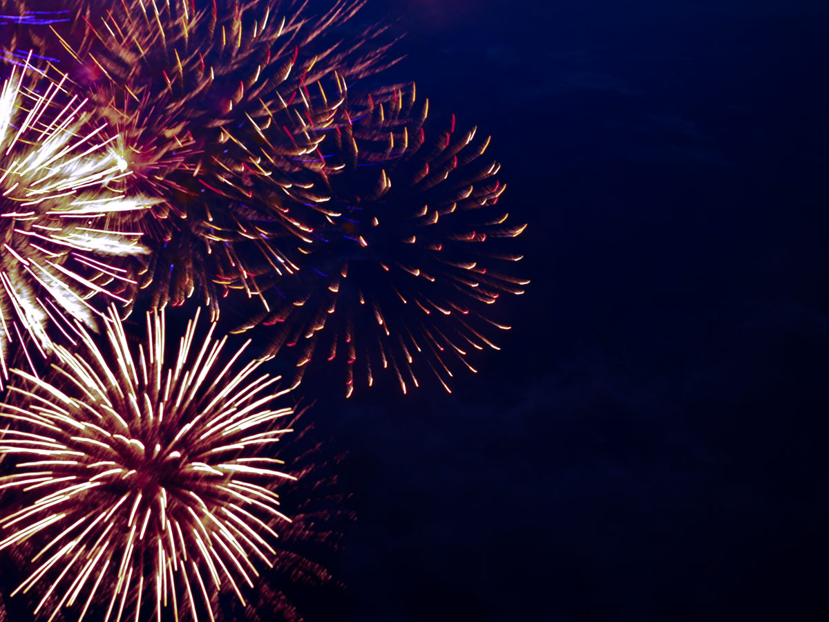 Feuerwerke Mohn