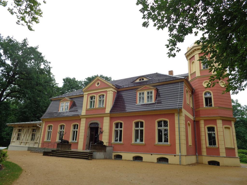 Bad Muskau - Trauzimmer im Schloss Kromlau