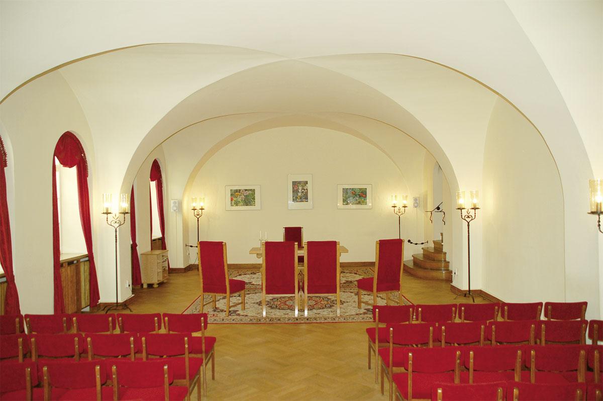 Trauraum im Rathaus Görlitz