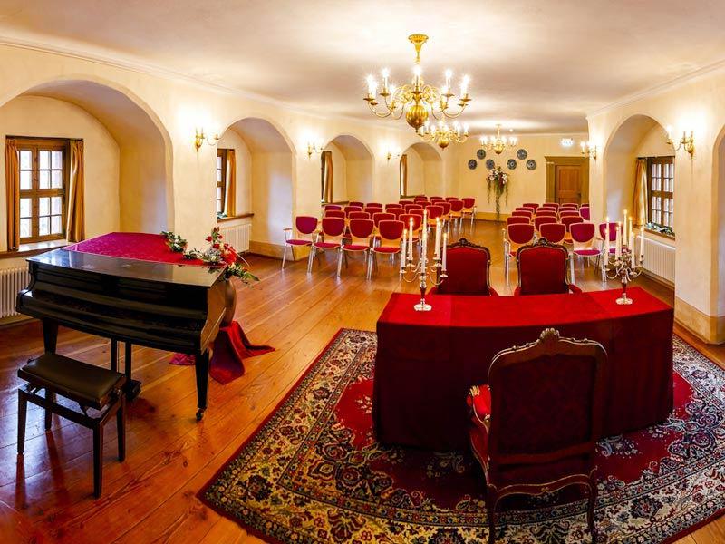 Heiraten im Schloss Weesenstein