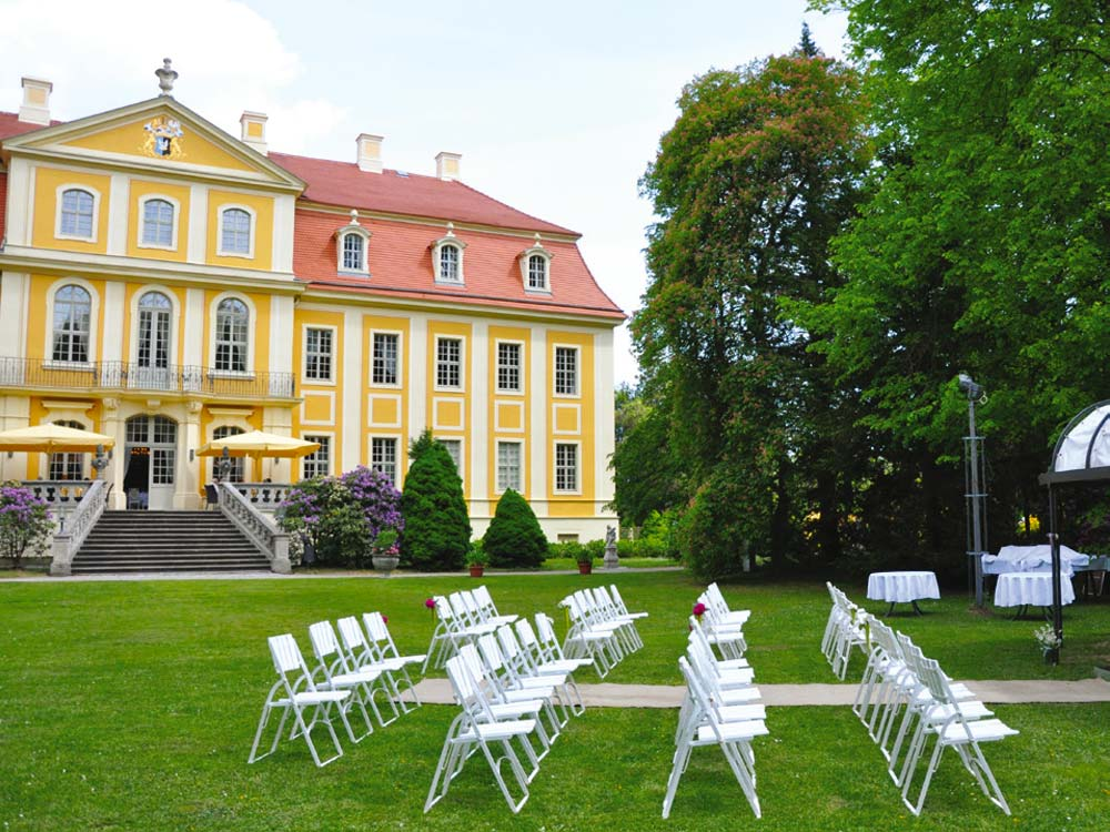 Heiraten Barockschloss Rammenau