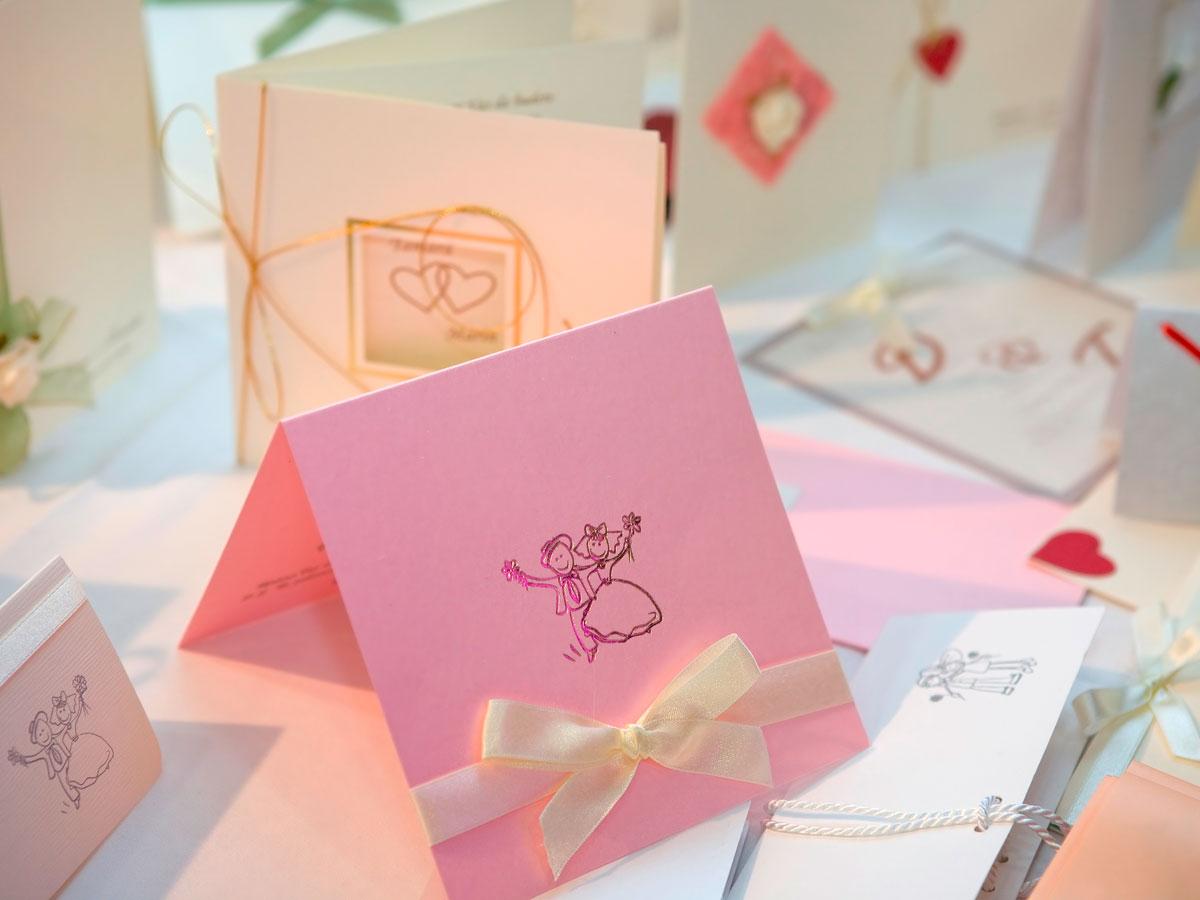 Einladungskarten & Danksagungen