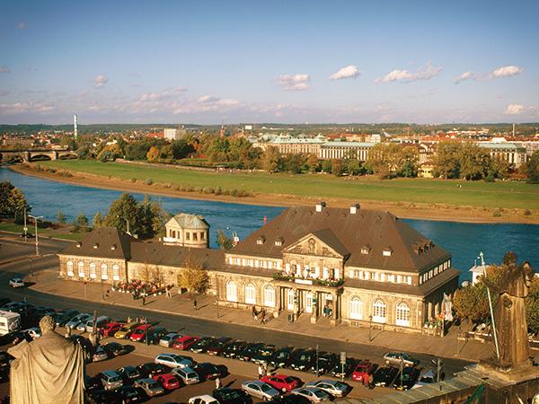 Hochzeit im Zentrum von Dresden