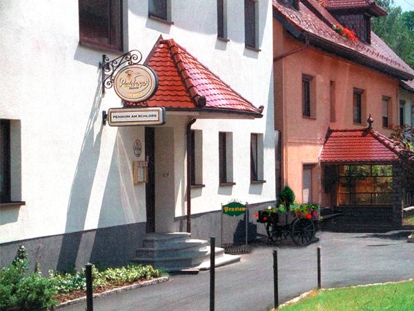 Heiraten im Schloss Schönfeld – Hochzeitsnacht in der Pension am Schloss Schönfeld.