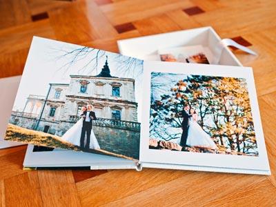 Ein professionelles Hochzeitsfotobuch