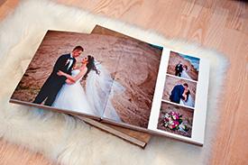 Hochzeitsfotoalbum Meisen