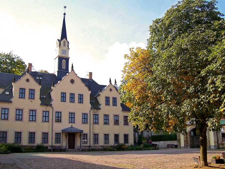 Schloss Burgk Freital Innenhof