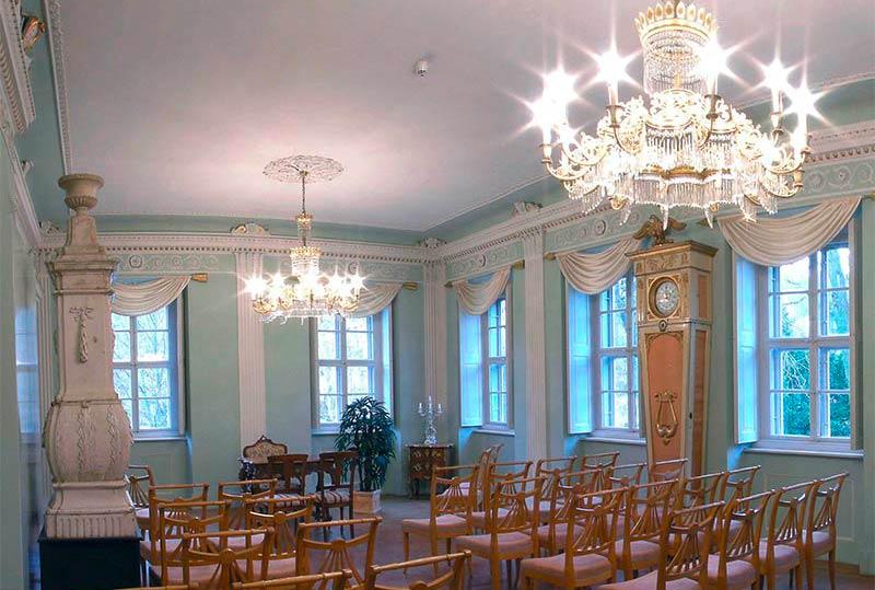 Trausaal Schloss Burgk