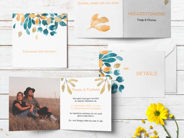 Meine Hochzeitskarten