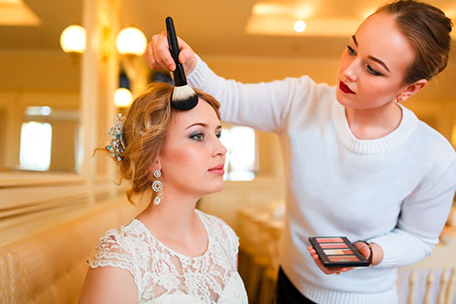 Braut-Make-up Dresden