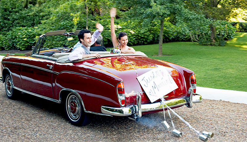 Hochzeitsauto Radebeul