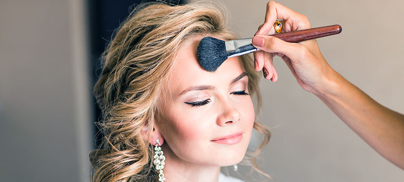 Braut-Make-up Dresden