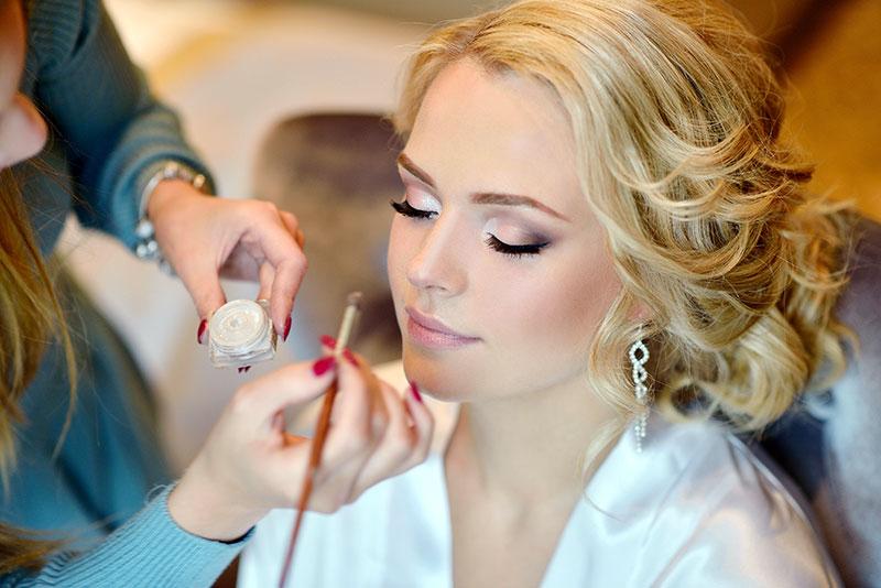 Braut-Make-up Meissen