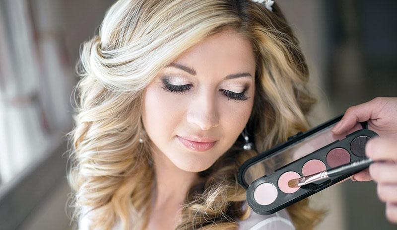 Braut-Make-up Pirna
