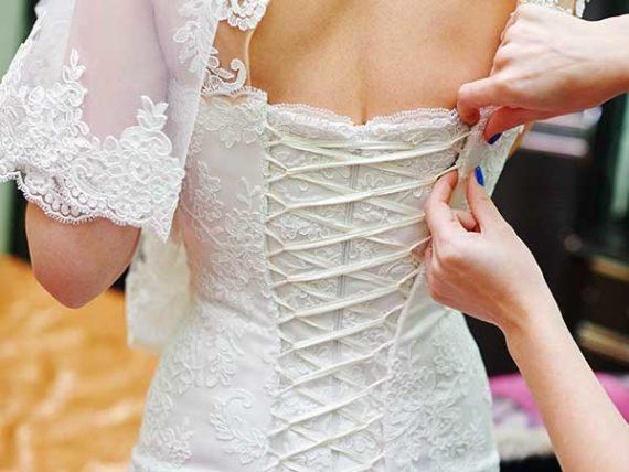 maßgeschneidertes Brautkleid Dresden
