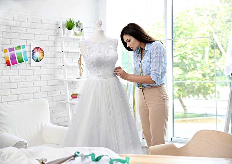 maßgeschneidertes Brautkleid Riesa