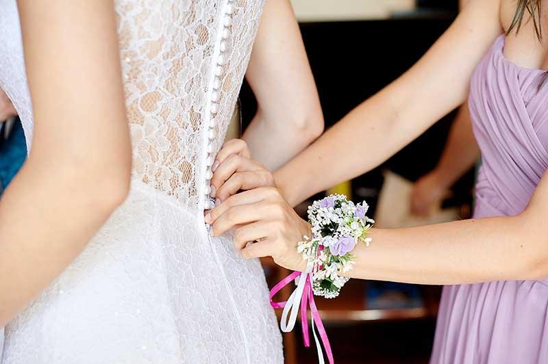 maßgeschneidertes Brautkleid Pirna
