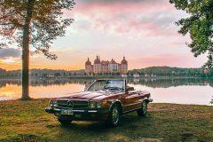 Hochzeitsauto-Mercedes